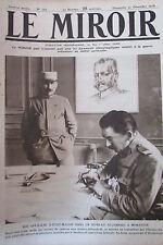 WW1 LE MIROIR 1916 OFFICIER ETAT MAJOR Gal PASSAGA KRONPRINZ BATAILLE AERIENNE