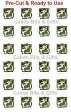 24 x BEN 10 Pic.2 Edible Wafer Cupcake Toppers PRE-CUT Ready to Use