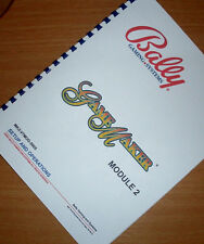Bally Game Maker SLOT MACHINE OPERATORS MANUAL
