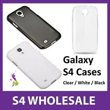50x Samsung Galaxy S4 Cases Wholesale - White, Black, Clear, Mix & Match - NEW