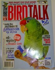 **BIRD TALK MAGAZINE Feb 07 Amazon Parrot Play Breeding Diets Finch Canary Cages