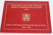 Vatikan, 2 Euro Petersdom im Folder, 2004, Stempelglanz / Bu - 890217