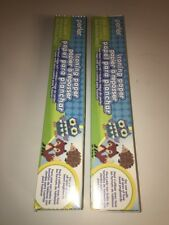 """Lot Of TWO - Perler Beads Ironing Paper Roll 12"""" x20.5ft - 30.4cm X 6.2m"""