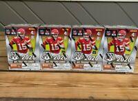 2020 Panini Mosaic Football Blaster Box NFL Lot! (x4) Factory Sealed Boxes!!