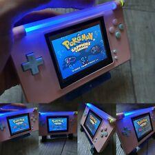 Nintendo Game Boy Advance NEON macro DS GBA Gameboy micro pokemon nes snes