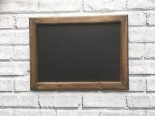 Handmade Wooden Blackboard, Message board, Chalk board Wall Mounted 40 x 30cm