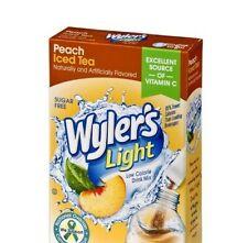 Diet Peach Iced Tea Drink Mix Sugar Free & Caffeine Free 3 Boxes FREE SHIPPING