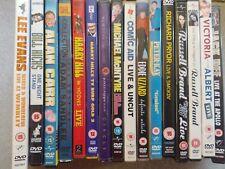 Bundle 16 Stand-Up/Comedy DVDs Jack Dee Lee Evans Harry Hill Peter Kay Alan Carr