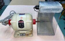 Red Wing 26a Dental Lab Polishing Lathe 14 Hp 2 Speed Splash Guard Accessories
