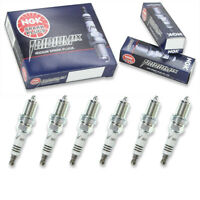 6 pc 6 x NGK Iridium IX Plug Spark Plugs 5690 BCPR7EIX 5690 BCPR7EIX Tune Up rw