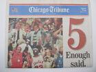 Vintage Souvenir Edition Newspaper 1997 Michael Jordan MVP Bulls 5X Champs