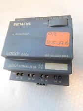 Siemens 6ED1 052-2CC01-0BA6 LOGO! 24Co 24VDC Input 8xDC