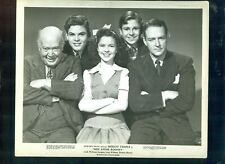 MISS ANNIE ROONEY- SHIRLEY TEMPLE- DICKIE MOORE- ORIGINAL - 8 X 10 GLOSSY PHOTO
