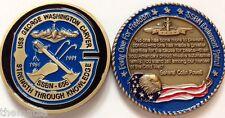 NAVY USS GEORGE WASHINGTON CARVER SSBN-656 SUBMARINE MILITARY CHALLENGE COIN