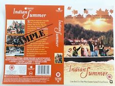 DOUBLE SIDED PROMO VIDEO SLEEVE - INDIAN SUMMER - TOUCHSTONE VIDEO LABEL