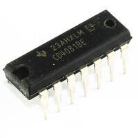 10Pcs CD4081BE DIP14 CD4081 Quad 2 Input Or And Gate Original DIP-14 CK