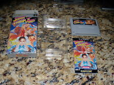 Street Fighter II Turbo Super Famicom SNES with box and manual