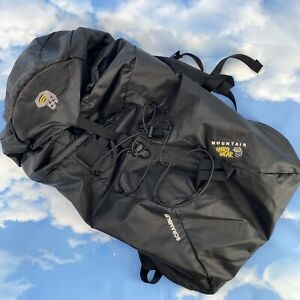 MOUNTAIN HARDWEAR Scrambler Hiking Camping Backpack Bag All Black Cordura
