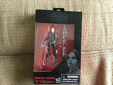 NEW 2016 Hasbro Star Wars: The Black Series Sergeant Jyn Erso Action Figure Toy