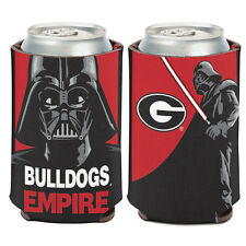 University of Georgia Darth Vader Can Cooler 12 oz. Bulldogs Empire Star Wars