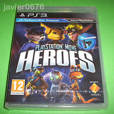 PLAYSTATION MOVE HEROES NUEVO Y PRECINTADO PAL ESPAÑA PLAYSTATION 3