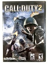 *FREE SHIPPING* Call of Duty 2 (2005) PC CD-ROM 6-Disc Set Case Good Condition !