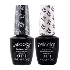OPI GelColor - Base & Top Coat - 15ml / 0.5oz Jeder - 100% Original!