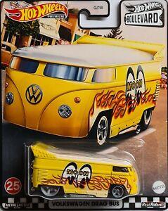 Hot Wheels Premium Volkswagen VW Drag Bus T1 MOON BOULEVARD - NEUHEIT 2021