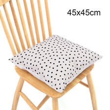 WHITE & BLACK SPOT POLKA DOT CUSHION COVER 45 X 45cm Dalmatian Print Room Decor