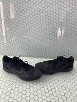 Nike Downshifter 9 Black Lace Up Low Top Running Sneakers Men's Size 10