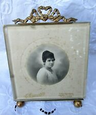 LOVELY FRENCH ANTIQUE XIX th. C. SQUARE PICTURE FRAME  BEVELLED GLASS