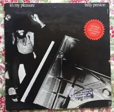 BILLY PRESTON - IT'S MY PLEASURE - VINYL - LP - FRENCH WITH POSTER - 985.016