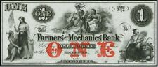 ROCHESTER, NH.  FARMER'S & MECHANICS BANK   CHOICE  UNCIRCULATED !  CV  $ 340