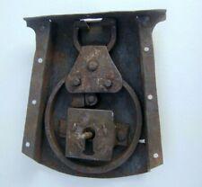 1700s Antique Chest Lock 14cm