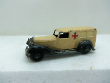 DINKY TOYS 30F VINTAGE AMBULANCE CLOSED WINDOWS TO SIDES