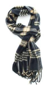 SCIARPA Timberland tartan scarf 170x27 NAVY TB0M5622.PL410
