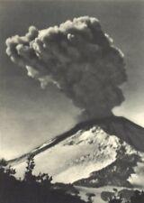 CHILE. Volcan Chillan. Erupción. Volcano Chillan erupting 1932 old print