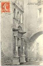 LE BUIS porte du XVème siècle timbrée 1908