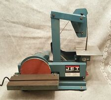 "1"" x 42"" Belt SANDER GRINDER / 8"" disc Jet JSG-1 SWORD knife MAKERS machine EUC"
