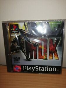 BRAND NEW GENUINE PAL SEALED MDK FOR PLAYSTATION ONE (OFFICIAL TEAR STRIP)