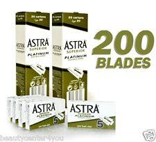 200 pcs Astra Superior Platinum Double Edge Shaving Razor Blades BIG SALE!