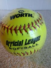 Worth Official League Softball Ywc11 - New