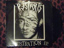 "The Restarts - Frustration RARE punk vinyl 7"" EP (1996) w/poster insert"