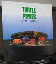 vinyle les Tortues Ninja / Turtle power /  Partners in Kryme / MAX 45T / RAP