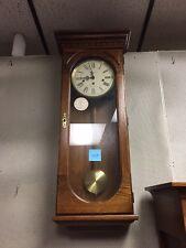 Howard Miller Oak Wall Clock #613-110