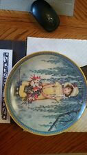 1986 Knowles Easter 1st Issue Jessie Willcox Smith Childhood Plate #2571D w/Coa