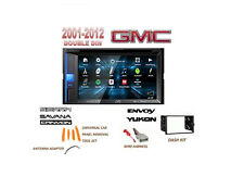 GMC 01-09 SIERRA YUKON SAVANA Stereo Combo Kit USB Dvd Bluetooth Touchscreen
