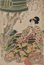 A4 Photo Toyokuni Utagawa 1769 1825 The actor Ichikawa Dannosuke in the role of