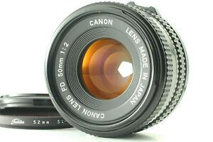 【Near Mint】 Canon New FD NFD 50mm F/1.2 Standard Prime SLR Lens from Japan