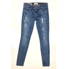 Textile Elizabeth & James Debbie Skinny Jeans Distressed Size 27 *Flaw